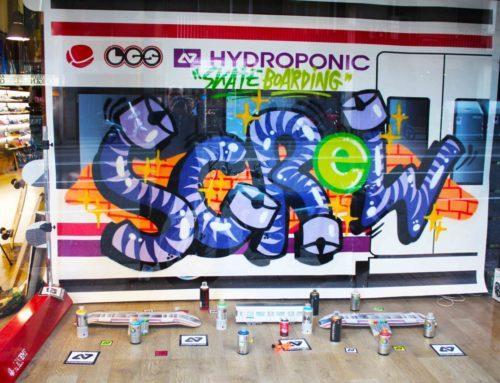 HYDROPONIC X MONTANA COLORS – 'TRAINS' @ LA GENERAL SURFERA