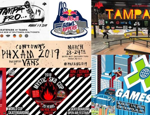 INTERNATIONAL SKATE EVENTS 2019