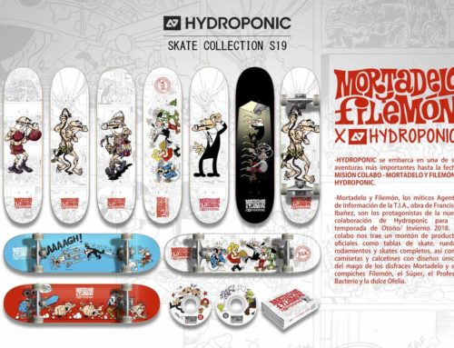 Second Delivery of the MORTADELO Y FILEMÓN X HYDROPONIC SS19